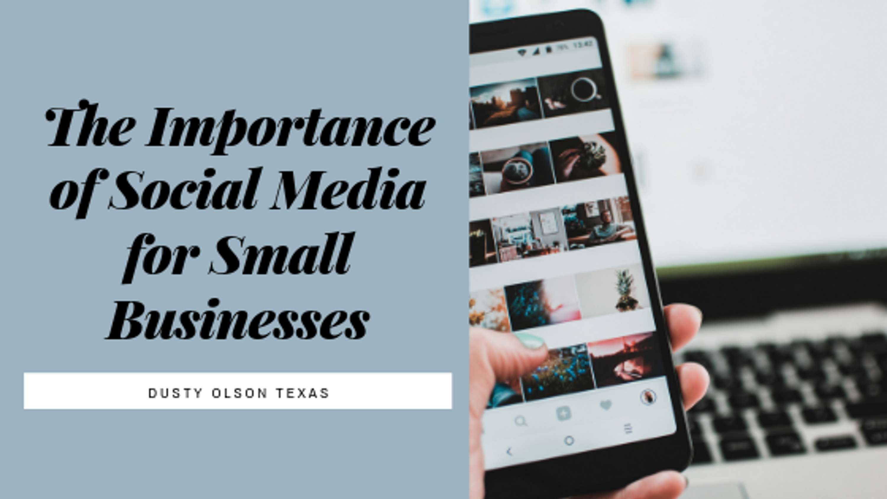 The Importance of Social Media for Small Businesses | The Dots