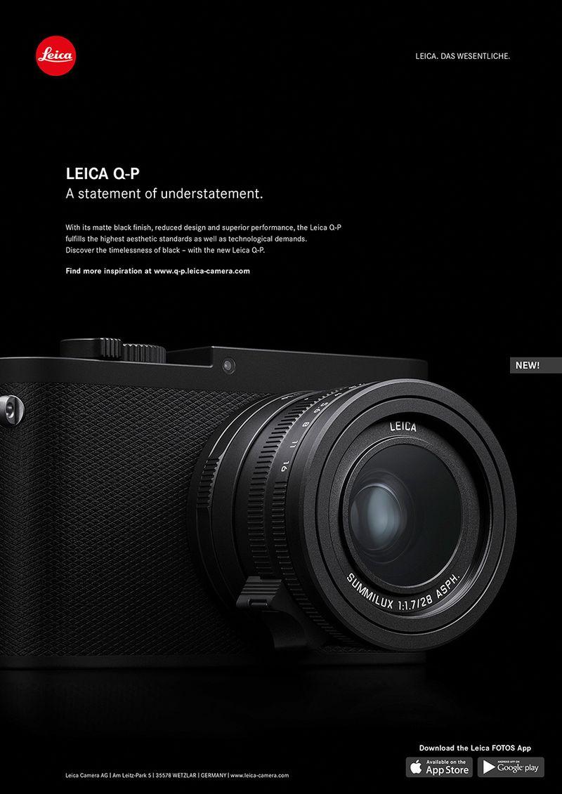 Leica Q-P. A statement of understatement.
