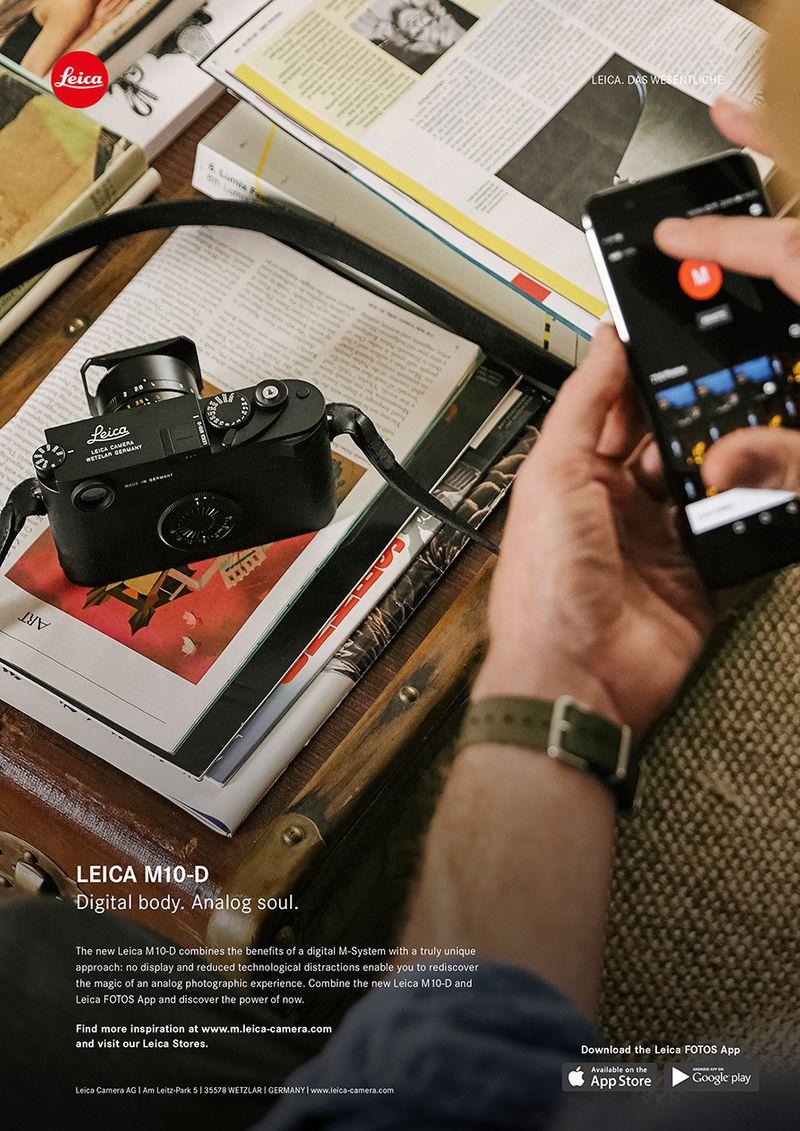 LEICA M10-D. Digital Body. Analog Soul.