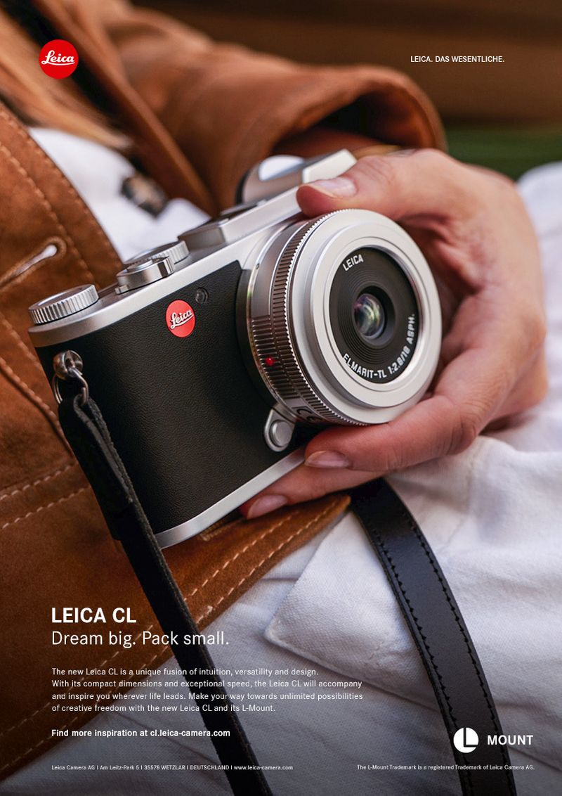 Leica CL. Dream Big Pack small.