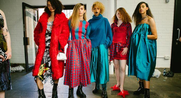 Underage London Fashion Week 2019 Presentation The Dots
