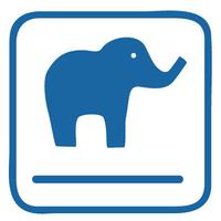 Blue Elephant Theatre logo