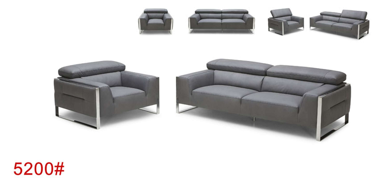 Sensational European Contemporary Style Leather Sectional Sofa 5200 Uwap Interior Chair Design Uwaporg