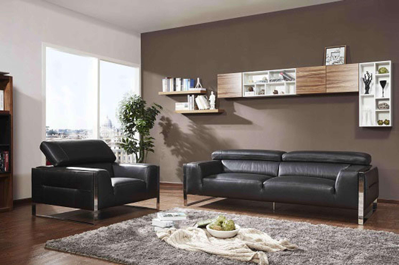 Peachy European Contemporary Style Leather Sectional Sofa 5200 Uwap Interior Chair Design Uwaporg