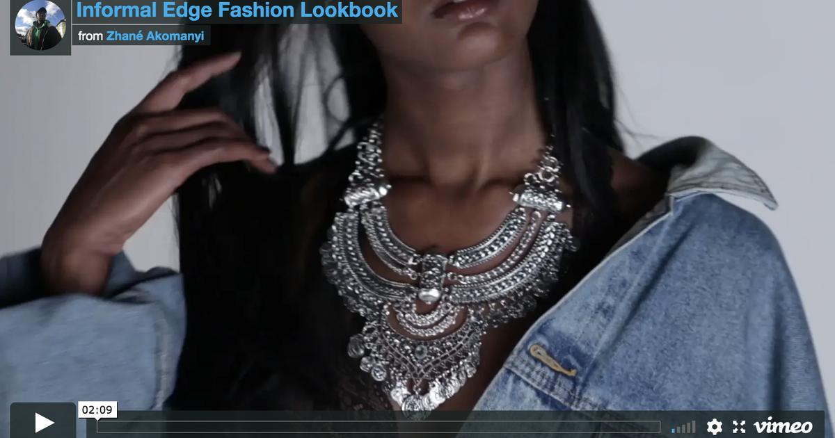 Informal Edge Fashion Lookbook Film Stills The Dots