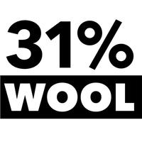31% Wool