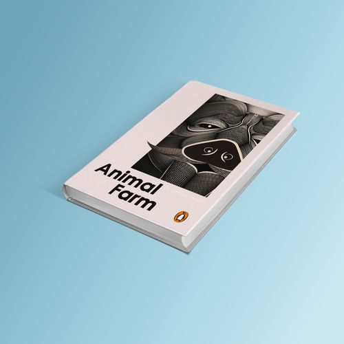 Book Cover Design For Animal Farm By George Orwell The Dots
