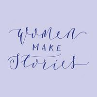 Women MAKE Stories logo