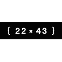 22 x 43 Creative Ltd logo