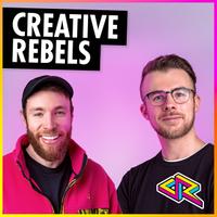 Creative Rebels Podcast logo