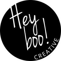Hey Boo! Creative logo