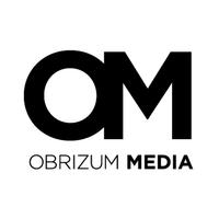Obrizum Media (OM) logo