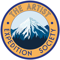 The Artist Expedition Society logo