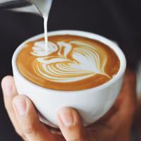 Aroma Coffee and Cafe logo