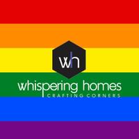Whispering Homes logo