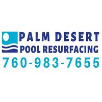 Palm Desert Pool Resurfacing logo