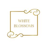 White Blossoms Flower Boutique logo