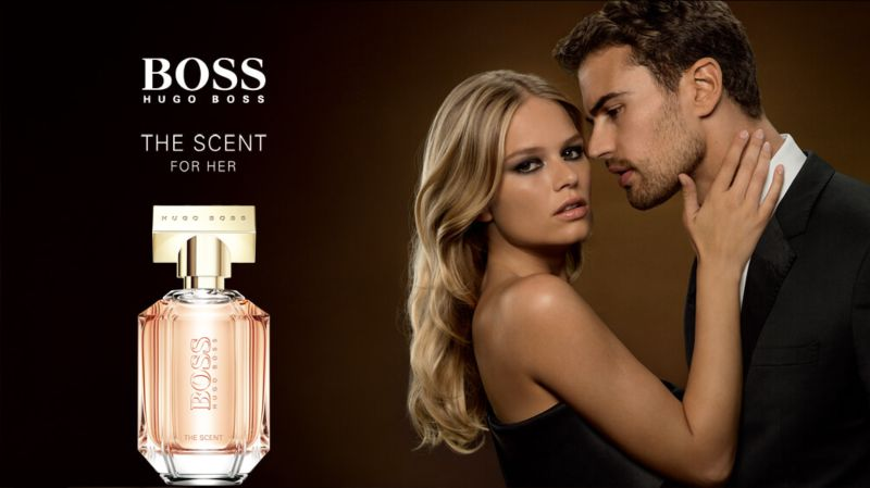 Launch of BOSS THE SCENT male and female fragrances