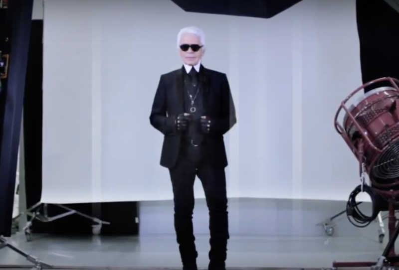 Face to Face: Karl Lagerfeld