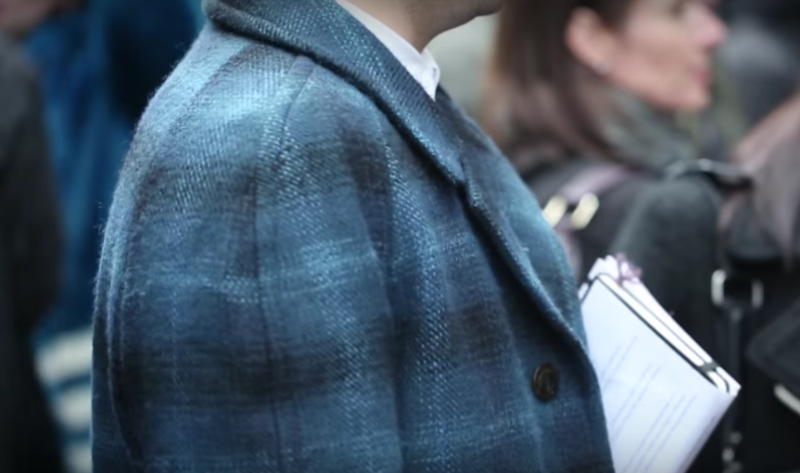 London Collections: Men -- Street Style: The Details -- MR PORTER