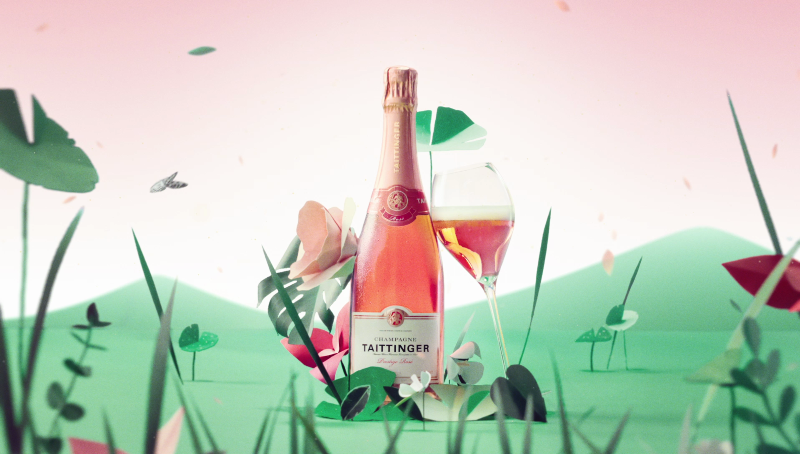 OH MY ROSÉ! by Taittinger | Web Commercial by Pauline Schleimer & Nicolas André
