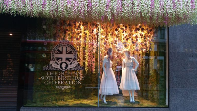 Queens 90th Birthday Celebration: House of Fraser