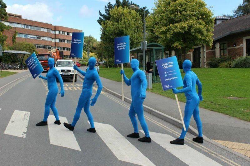 KPMG: Blue Men University Tour