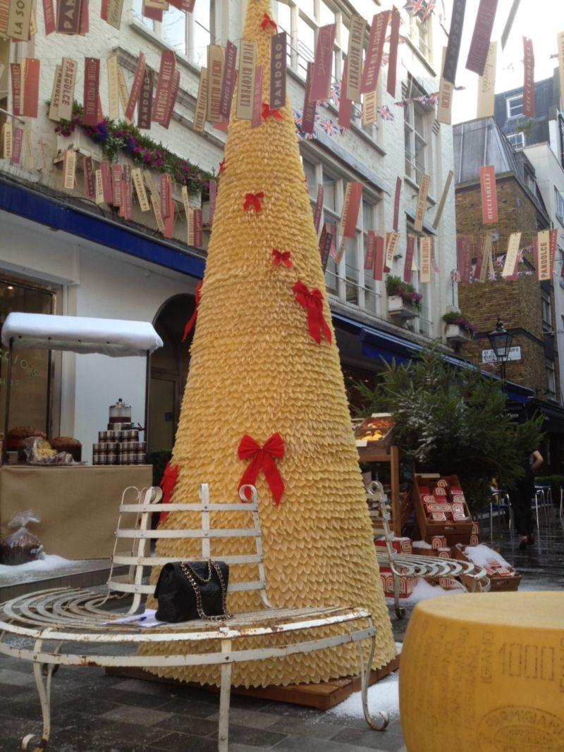 Sarah Feather Design: Carluccio's Christmas Menu Launch