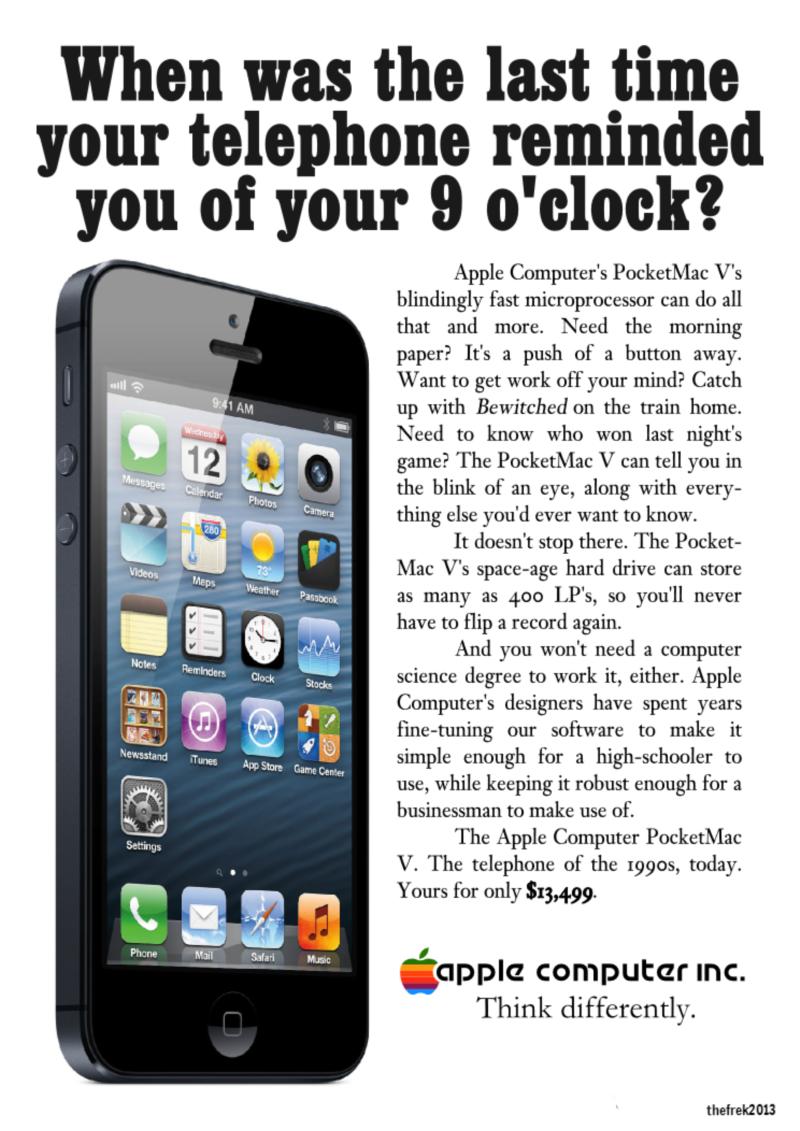 Retro Apple Advert