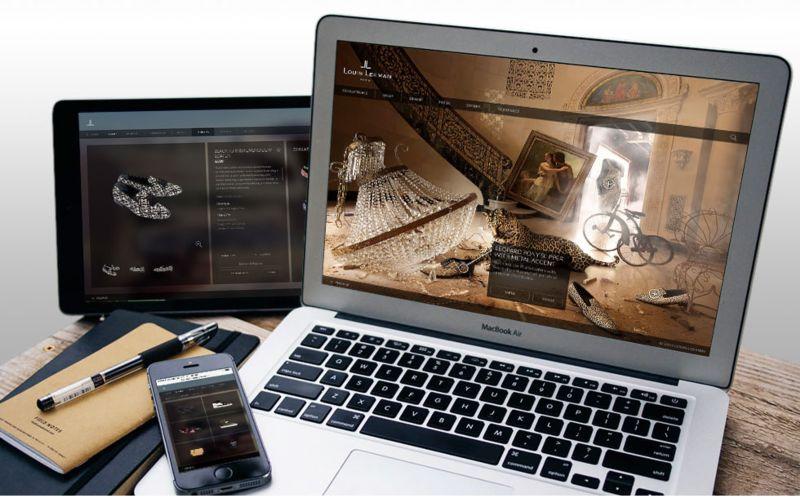 Louis Leeman - Ecommerce Website