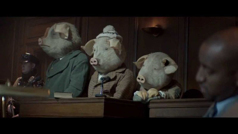 The Guardian 'Three Pigs' brand advertising campaign