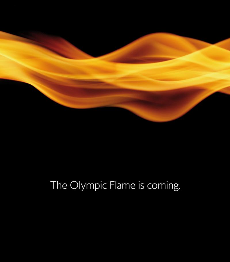 British Airways Olympic Flame