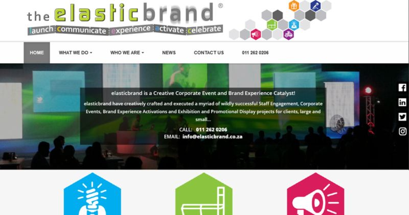 elasticbrand: brand identity and website