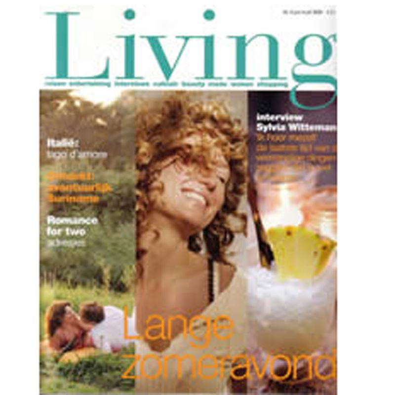 Living Magazine - Cover research