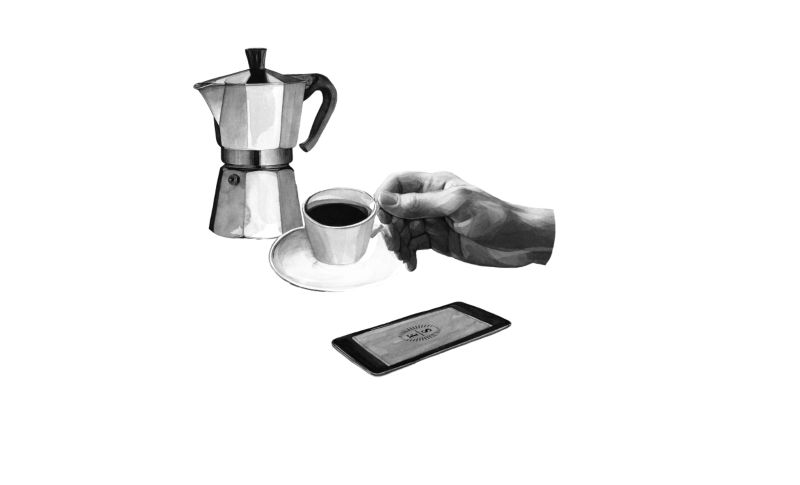How to drink coffee like an Italian : The moka pot