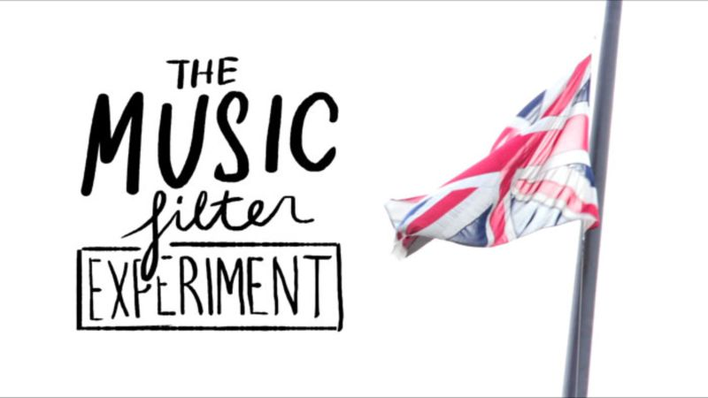 The music filter experiment