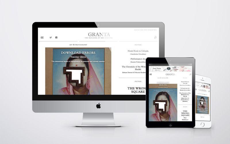 Digital Strategy for Granta Magazine