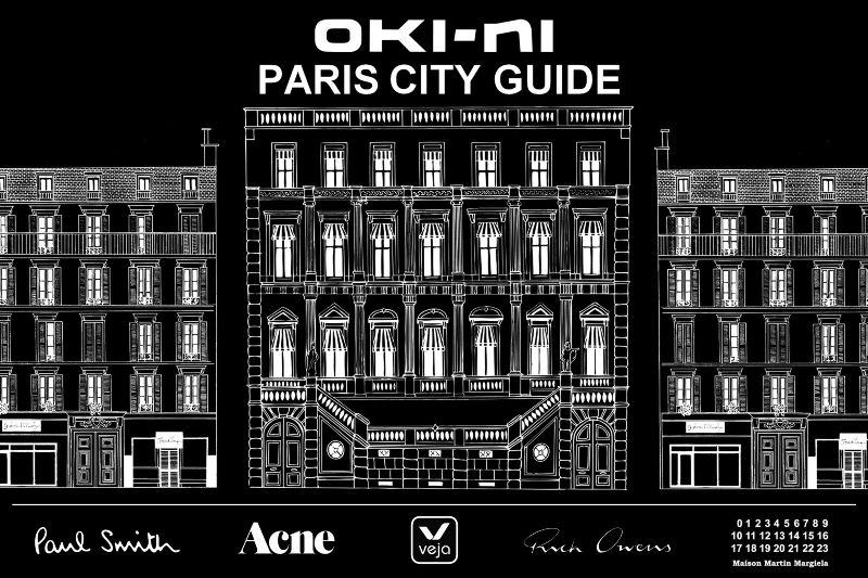 oki-ni Paris City Guide