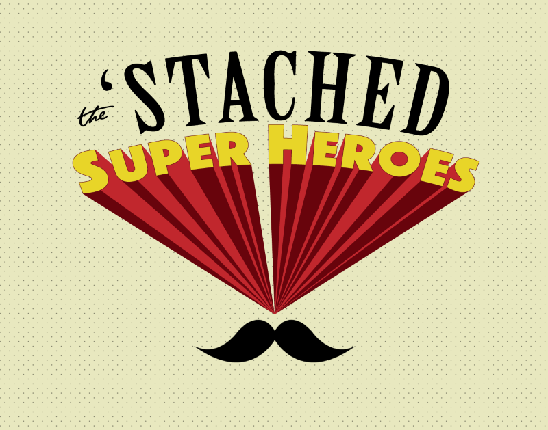 THE STACHED SUPER-HEROES