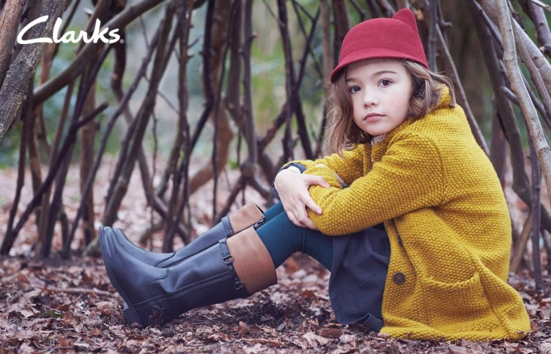 Clarks Kids AW15 — Global Advertising Campaign