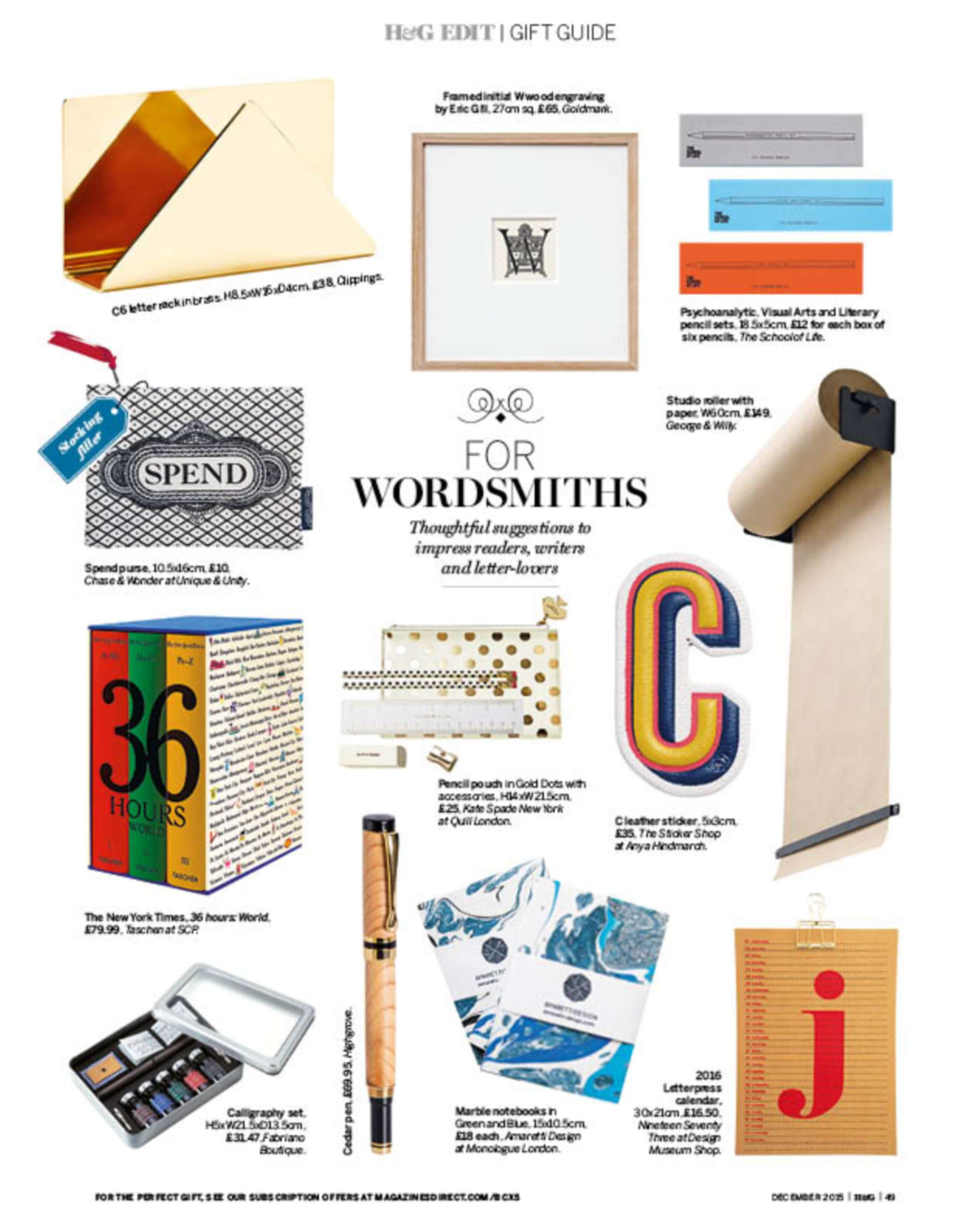 Christmas Gift Guide Magazine.Christmas Gift Guide The Dots