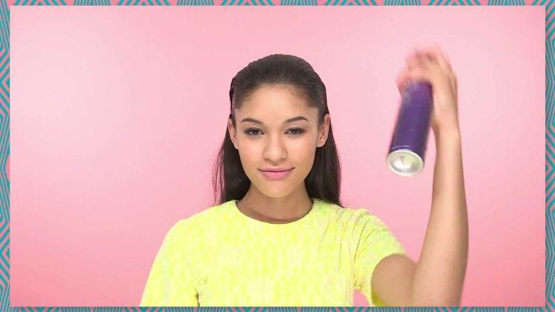 Wet Look Slick-Back Hair How To | ASOS Beauty Tutorial