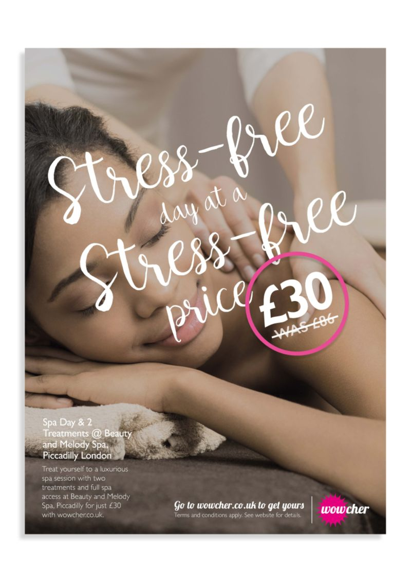 Wowcher Press Ad Re-Design