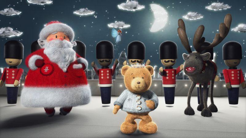 A Very British Bear Tale: HARRODS CHRISTMAS 2016