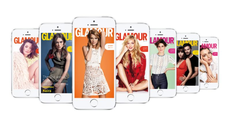 Glamour UK mobile edition