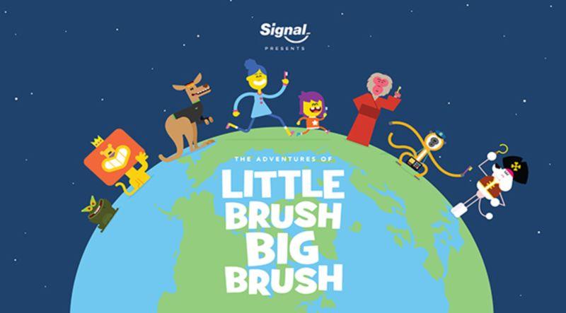 Unilever Signal-Pepsodent Little Brush Big Brush