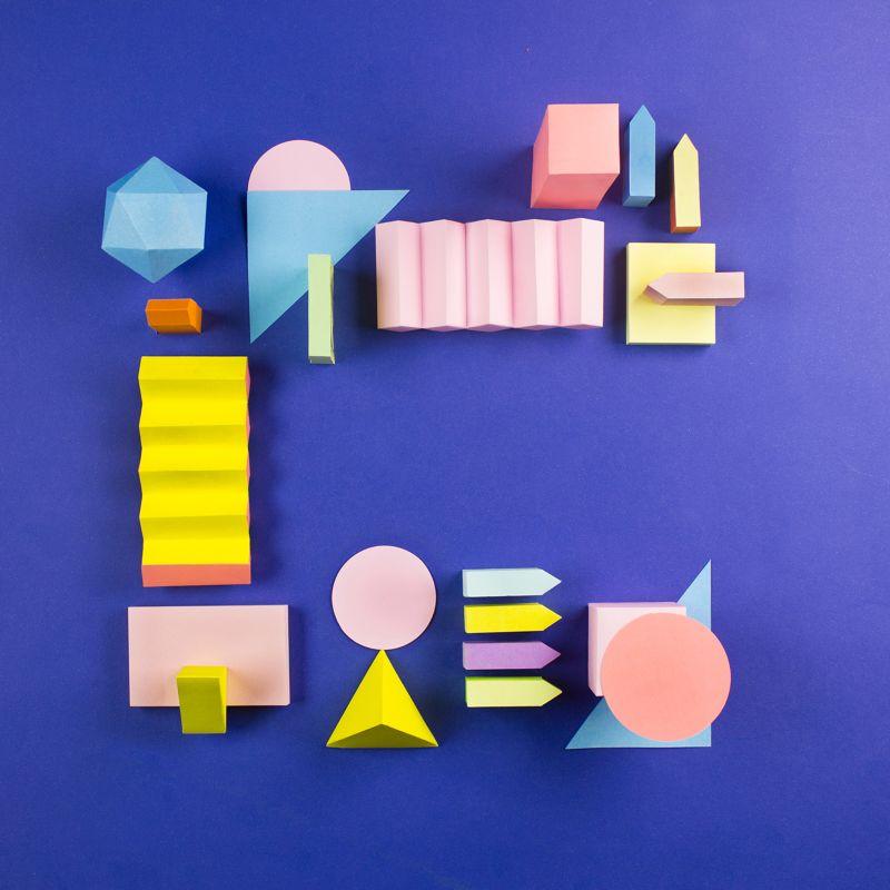 Colorful Paper Craft Alphabet