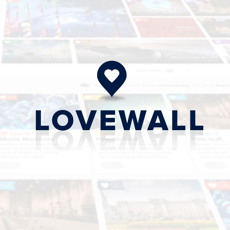 LoveWall for VisitBritain