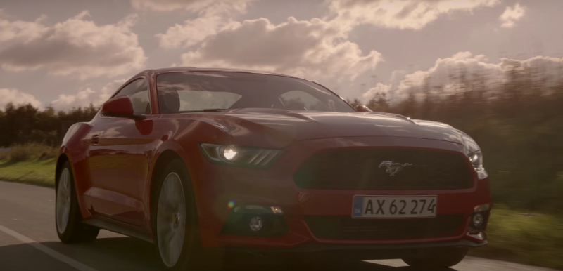 Ford Mustang in Denmark