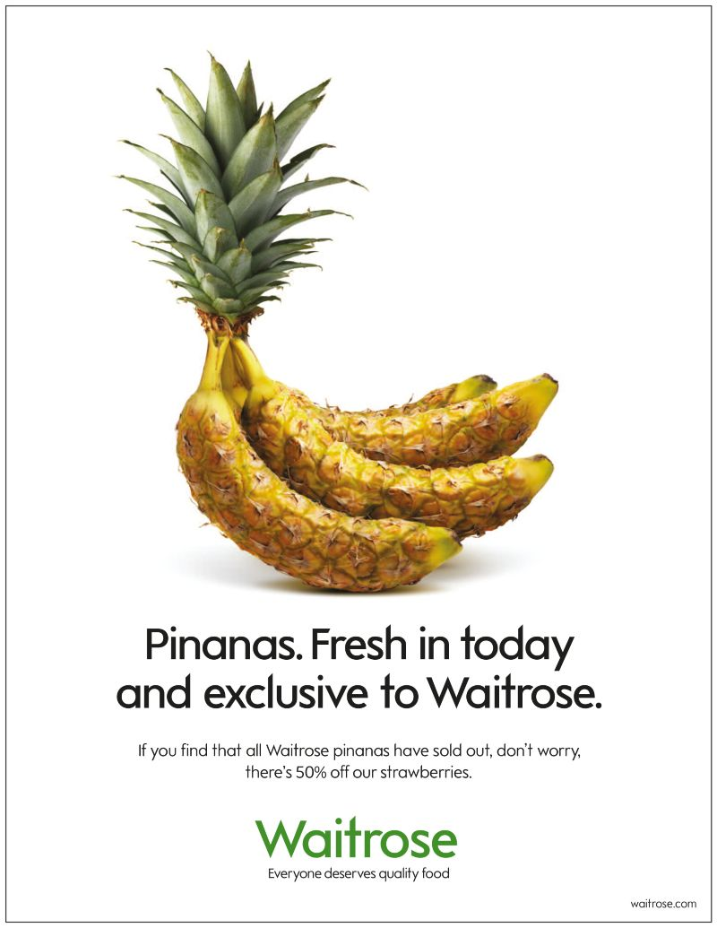 Waitrose 'Pinanas'